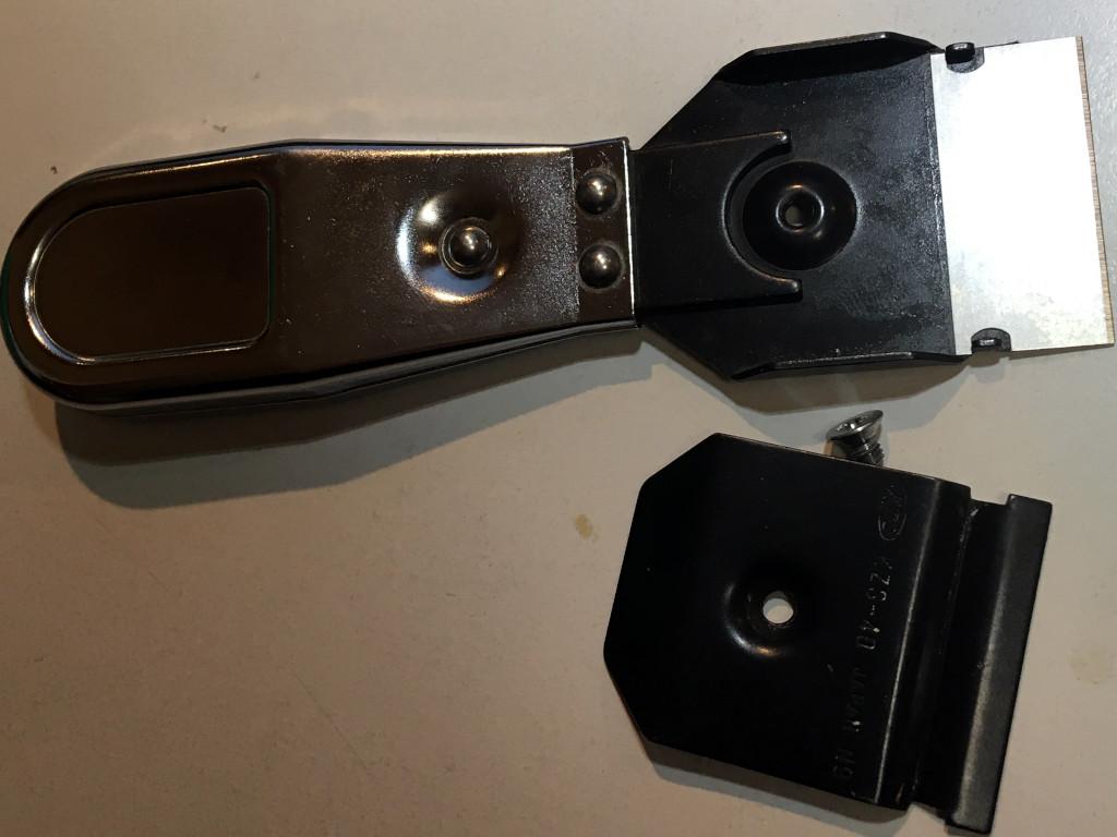 KTCスクレーパーの替刃交換