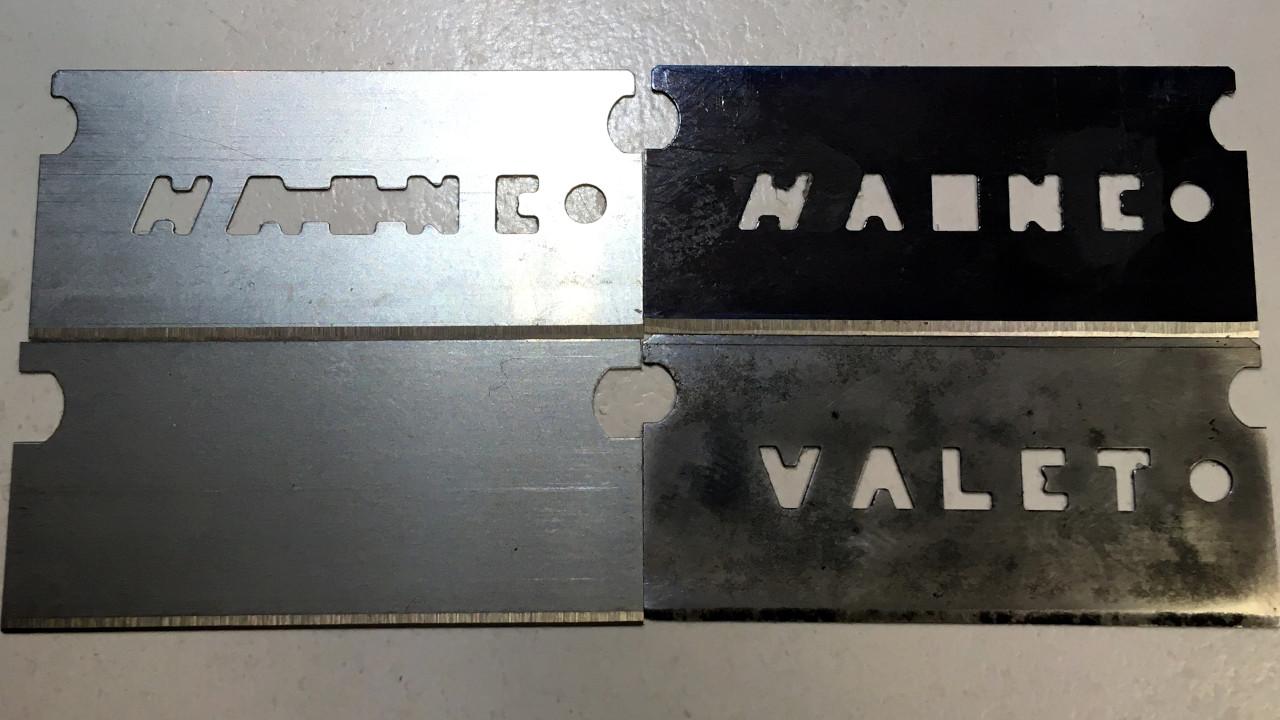 KTCスクレーパー替刃とValet刃の比較